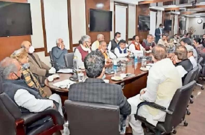 Haryana के सांसदों-विधायकों ने SYL का मांगा पानी, केंद्रीय कृषि मंत्री तोमर से की मुलाकात