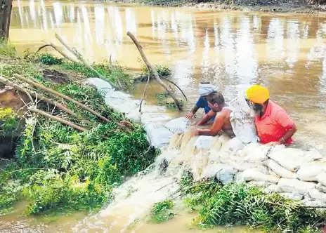 घग्गर नदी के बरसाती पानी की होगी बेहतर सिंचाई, 7 गांवों को होगा फायदा