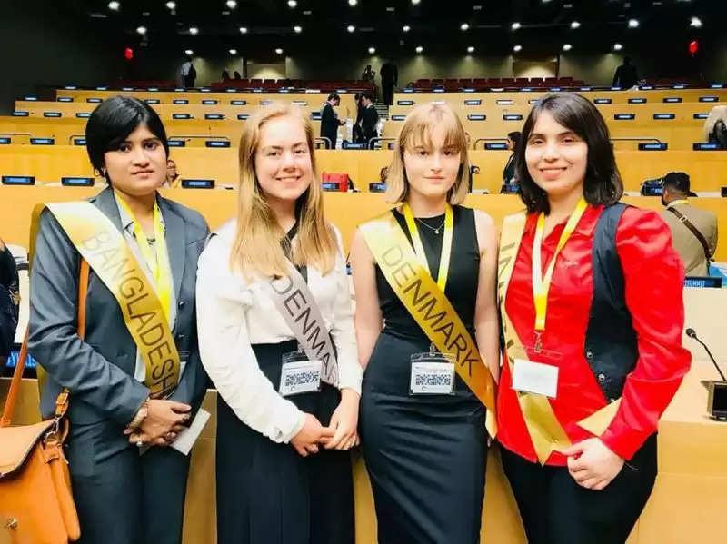 हरियाणा की बेटी ने UN में दिया भाषण, बेटियों की सुरक्षा की देती है ट्रैनिंग