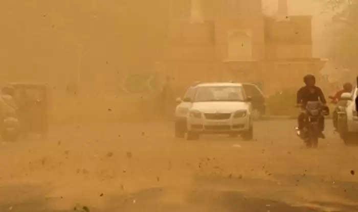 हरियाणा के कई इलाकों में आंधी के साथ बारिश, मौसम हुआ सुहावना